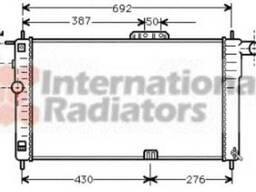 Радиатор Daewoo Nexia