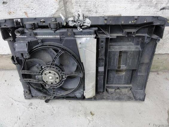 Радиатор диффузор вентилятор Citroen C2 2003-2010
