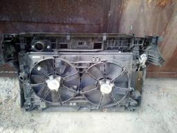 Радиатор дифузор панель Mazda 3 кузов BL вся касета в сборе