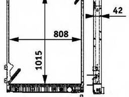 Радиатор Mercedes Actros 8MK376 721-491, 942500120
