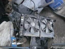Радиатор охлаждения Daewoo Nubira с двумя вентилятороми