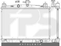 Радиатор охлаждения двигателя Mazda 2 DE (07-11) 1. 5 МКПП. ..