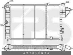 Радиатор охлаждения двигателя Opel Vectra A 2. 0 МКПП, без. ..
