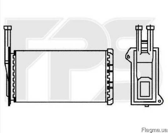 Радиатор печки Ford Sierra 87-93 радиатор Sierra