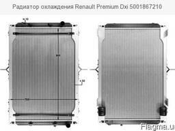 Радиатор Renault Premium DXI