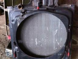 Радиатор в сборе с расширительным бачком MAN TGA 81066200145