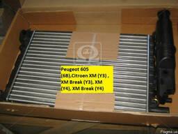 Радиатор водяного охлаждения Peugeot 605,Citroen XM 2.0