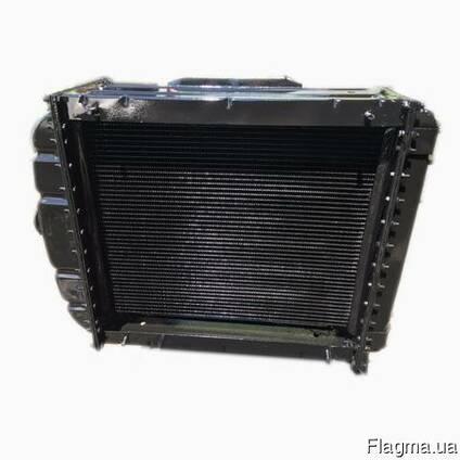 Радиатор водяного охлаждения ЮМЗ-6 с двиг. Д-65 (3-х рядный)