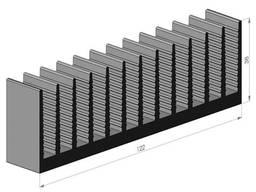 Радиаторный профиль алюминиевый 188х35 купить склад цена