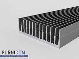 Радиаторный профиль алюминиевый от 42*26 до 122*38