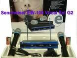 Радиомикрофон Sennheiser EW-100 2 микрофона - фото 2