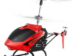 Радиоуправляемая игрушка Syma Вертолёт 2.4 ГГц 23 см со светом, барометром