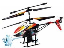 Радиоуправляемая игрушка WL Toys Вертолет с 3х кан. и/к, гироскопом, водяной пушкой