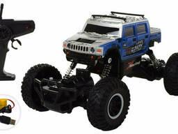 Радиоуправляемый монстр-трак Sulong Toys Синиий (SL-102A(Blue))