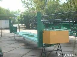 Рапсовый стол от 5 до 9 метров на Клаас, Кейс, Джон Дир