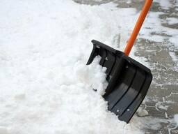 Расчистка снега в Харыцзск 20 км.