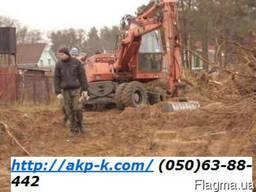 Расчистка территории Киев