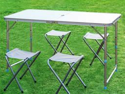 Раскладной стол со стульями для пикника Folding Table