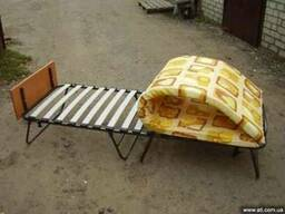 """Раскладушка ортопедическая с колесиками """"Тумба"""""""