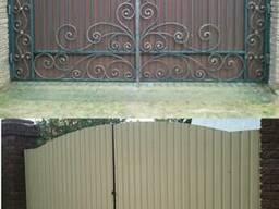 Кованые ворота и калитки в Коростени в городе Киев