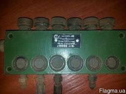 Распределитель смазки С32М-43 на 6 отводов