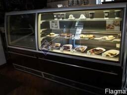 Распродажа холодильных витрин бу кондитерских и гастроном