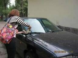 Распространение листовок по парковкам Кривой Рог - фото 1