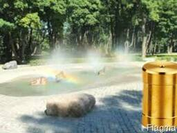 Распылительная латунная насадка для фонтана Туман