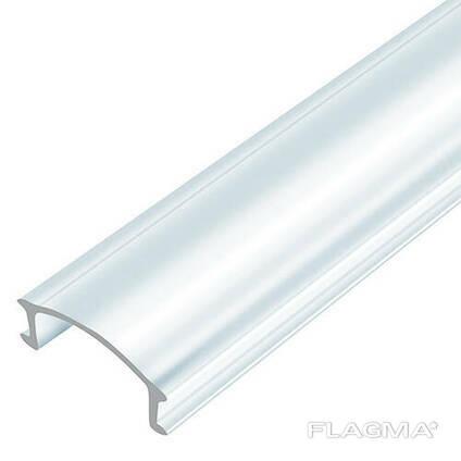 Рассеиватель прозрачный BIOM LC-U для алюминиевого профиля ЛП-7 1м