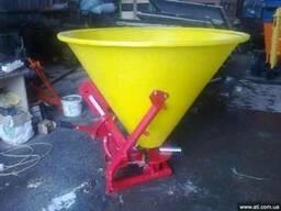 Рассеиватель удобрений Jar Met 500 л. Пластик - фото 1