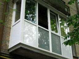 Расширение Балкона Обшивка Утепление ОстеклениеЛоджии Откосы