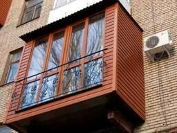 Расширение балконов , Утепление , Сварочные работы , Обшивка
