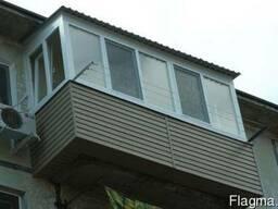 Расширение балконов,вынос балконов,окна, лоджии в Николаеве