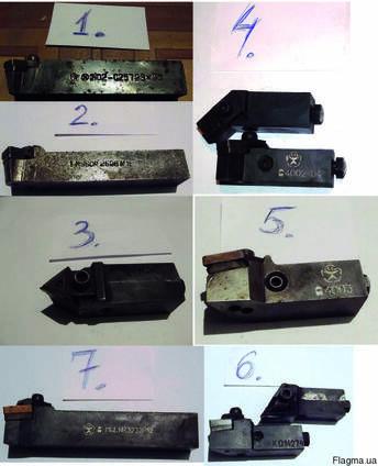 Расточные резцы - державки резцовые с механ. креплением