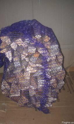 Растопку в сетках 4 кг сосна