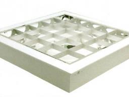 Растровый индукционный светильник SVETличный ПИР-03-710-40