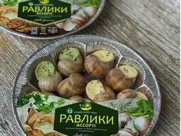 Равлики виноградні Асорті 12шт. 150 гр.