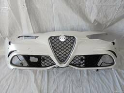Разборка Alfa Romeo Giulia Бампер Капот Крыло Дверь