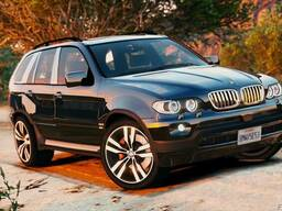 Разборка BMW X5 E53 1999-2006 детали кузова подвески крыла