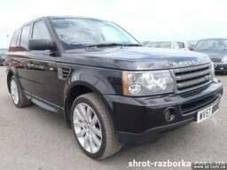 Разборка Land Rover Range Rover Sport бу запчасти шрот злом