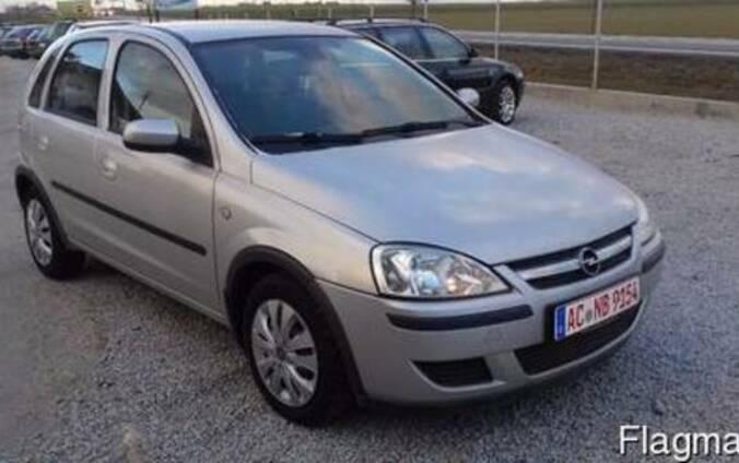 Разборка Opel Corsa C (2000-2006). Запчасти