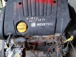 Разборка Opel Zafira A (2001), двигатель 1. 8 Z18XE.