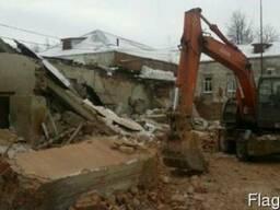 Демонтаж здания цена, где купить в Одессе