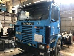 Разборка топливозаправщика Scania