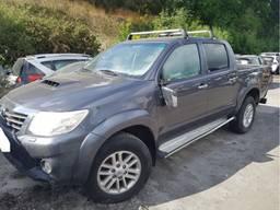 Разборка Toyota Hilux 05-15 16- год запчасти новые и бу авто