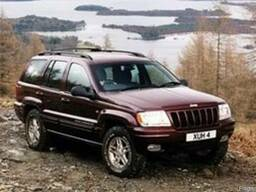 Разборка Запчасти Капот Двери Бампер Jeep Grand Cherokee WJ