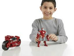 Разборная фигурка Железный человек с мотоциклом, Iron Man Hot-Shot Hot. ..