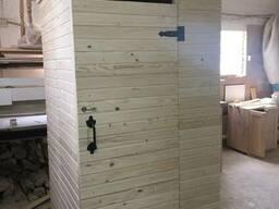 Разборные туалеты из дерева для дачи