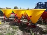 Разбрасыватель 500 кг (бак-пластик) фирмы Jar-Met Польша - фото 4