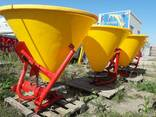 Разбрасыватель 500 кг (бак-пластик) фирмы Jar-Met Польша - фото 1
